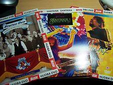 3 DVD Set Santana - Viva Santana / Jimi Hendrix - Rainbow Bridge / Status Quo
