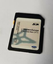 FORD FIESTA FOCUS CMAX SAT NAV MFD SONY NAVIGATION NONTOUCHSCREEN SD CARD MAP V7
