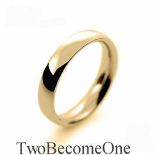 Wedding Handmade Yellow Gold Fine Rings without Stones