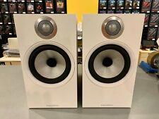 *OPEN-BOX* Bowers & Wilkins 606 Bookshelf Speakers (pair) - Matte White