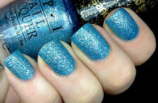 OPI NAIL POLISH Lacquer in TIFFANY CASE ~ James Bond Collection Blue Glitter