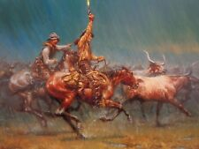 Andy Thomas Wild Ones Print Signed & Numbered Western