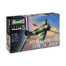 Revell 03914 1:32 Scale Polikarpov I-16 Type 24 Rata Aircraft Model Kit