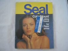 """Seal ColorMount Dry Mount Tissue for Rc Paper 8""""x10"""" Open Box 92 Count"""