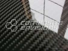 "Carbon Fiber Panel .255""/6.5mm 2x2 Twill - EPOXY-12"" x 24"""