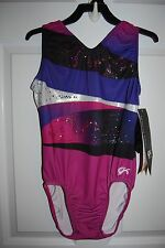 GK Elite Gymnastics Leotard -Adult Large - Cirque Du Soleil
