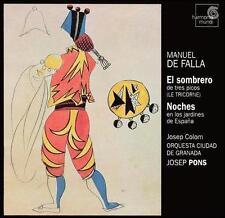 Manuel De Falla El sombrero Noches Super Audio Hybrid CD 2003 Harmonia