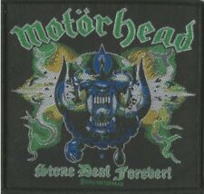 MOTORHEAD Lemmy Stone Deaf Forever Sew On Patch Official Licensed Band Merch