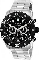 Invicta Men's Pro Quartz Diver Chrono 100m Stainless Steel Watch 22516