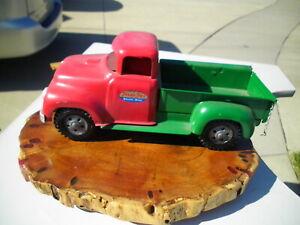 Vintage 1950's Tonka Pressed Steel Toy Pickup Truck Restored