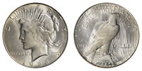 1928-S Peace Silver Dollar Brilliant Uncirculated - BU