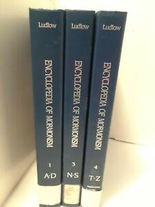 Encyclopedia of Mormonism-  3 volumes-  Incomplete Set-  Hardcover books