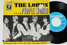 "THE LORDS -People World / Four O'Clock In New York- 7"" 45 Columbia ‎Records"