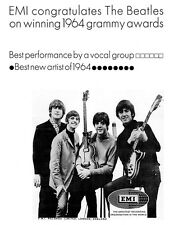 "EMI  Beatles Early 1965 Ad replica 14 x 11"" Photo Print"