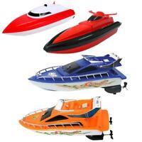 Kids Remote Control RC Super Mini Speed Boat High Performance Boat Toy L&6