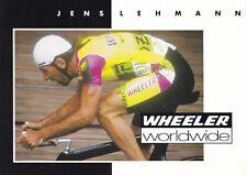 CYCLISME carte cycliste JENS LEHMANN équipe WHEELER WORLDWIDE