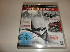 PLAYSTATION 3 PS 3 Batman: Arkham City-Game of The Year Edition