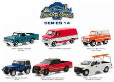 GREENLIGHT 1:64 COUNTRY ROADS SERIES 14 ASSORTMENT 6 Diecast Car Set