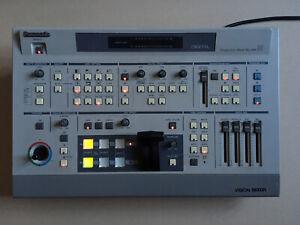 PANASONIC WJ-MX30 PRODUCTION MIXER 90s Retro Video Vision Mixer