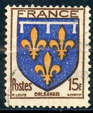 STAMP / TIMBRE FRANCE OBLITERE N° 604 BLASON / ORLEANAIS