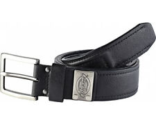 Dickies Rockland Belt BE101 Mens High Quality Black Leather Reinforced Work