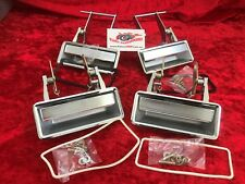 Door Handle Set Outer XB XC Chrome Suits Ford Falcon GT GS Fairlane ZG ZH NEW !