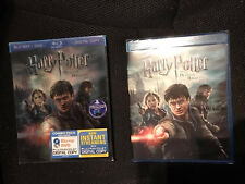 Harry Potter and the Deathly Hallows: Part II Blu-ray/DVD 3-Disc 3D SLIPCOVER