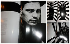 Sam Claflin clippings lot 2012 Hunger magazine fashion Rankin actor model rare