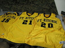 jerseys lot of 3 yellow black powers USA MADE throwback ft richie military 44
