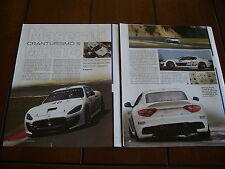 2010 MASERATI MC GT4  RACE CAR GRAN TURISMO ***ORIGINAL ARTICLE***