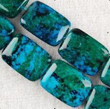 "13x18mm Azurite Chrysocolla Gemstones Loose Beads 15"""
