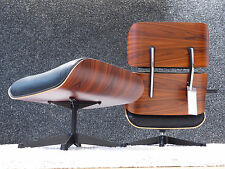 Vitra Lounge Chair & Ottoman, Charles & Ray Eames, Classic Version in XL, Top!