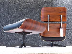 Vitra Lounge Chair & Ottoman Charles & Ray Eames neue Maße (XL), Top!