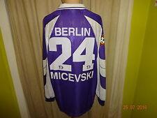 Tennis Borussia Berlin umbro Matchworn Trikot 1998/99 + Nr.24 Micevski Gr.XL