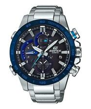 Casio EQB800DB-1A Edifice Men's Watch Silver 53.5mm Stainless Steel Case