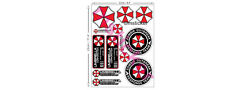 13x Umbrella Corporation Sticker Decal Raccoon City Resident Evil Zombie Dead