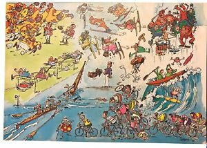 Sergio Aragones Giant Sports Poster Puzzle Two-Sided The Underground Jigsaw 550+