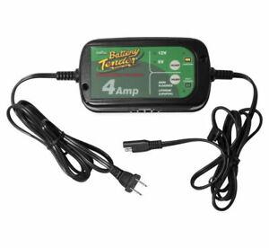 6/12 Volt 4-Amp Power Battery Tender Charger For AGM, Gel, Lithium, Acid-Lead