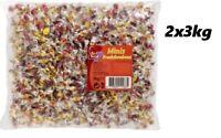 2x3 kg Red Band Minibonbons Bonbons einzeln verpackt Fruchtbonbons (kg/3,33€)MHD
