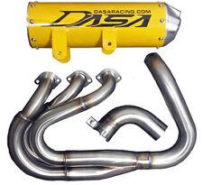 DASA Racing Yamaha YXZ1000R Full Exhaust System Yellow