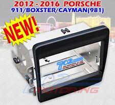 12 13 14 15 16 PORSCHE 911 BOXTER CAYMAN (981) DOUBLE DIN RADIO INSTALL KIT NEW