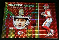 JSY # 5/10 PATRICK MAHOMES II *SSP GOLD PRIZM 2019 Panini Spectra Masked Marvels