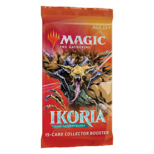 Ikoria: Lair of Behemoths - COLLECTOR Booster Pack (15 cards) MTG