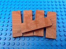 Lego 2x1 Brown Tall Bricks QTY 5 City Town Pirates Castle Kingdoms Star Wars