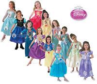 Child Licensed Disney Princess Girls Book Week Fancy Dress Kids Party Costume