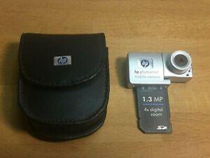 Vintage HP Photosmart Mobile Camera for IPAQ with SDIO SD Card Slot FA185A +Case