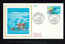 Fdc-1480*France 1989 *Chambery 89 Fdc w Cef Cachet