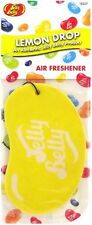 Jelly Belly Bean 2D Car Air Freshener Lemon Drop Hanging Cardboard Scent Smelly