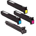 Konica Minolta Bizhub C200, C253, C353 Color Toner Cartridge Bundle 4 Pack TN213