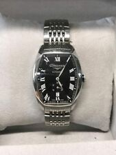LONGINES EVIDENZA Automatic Black Dial Stainless Steel Men's Watch (GCE031601)